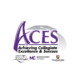 ACES logo with partner logos