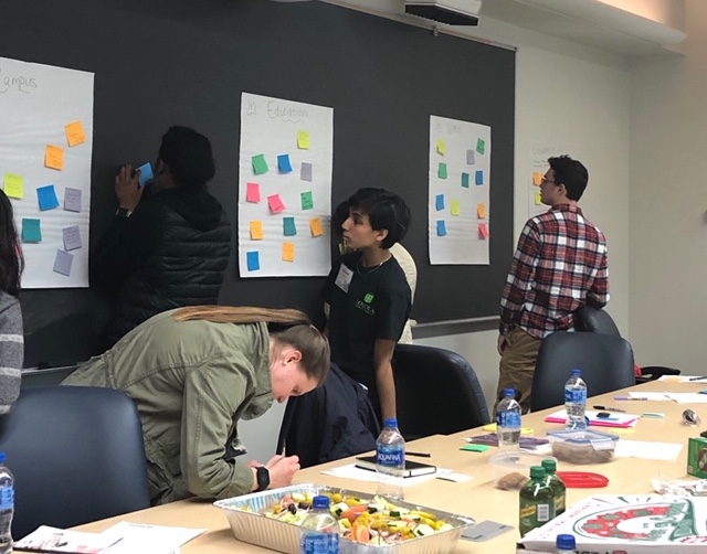 The social impact fellows use design thinking to identify inequities in their community.